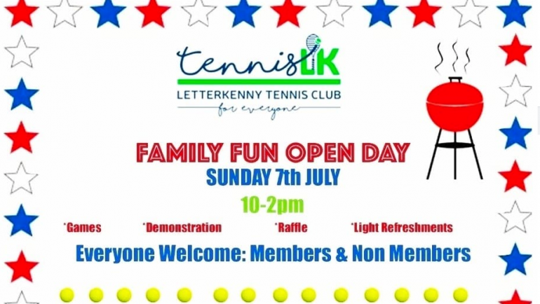 4th of July & Family Open Day